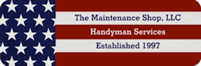 the maintenance shop logo